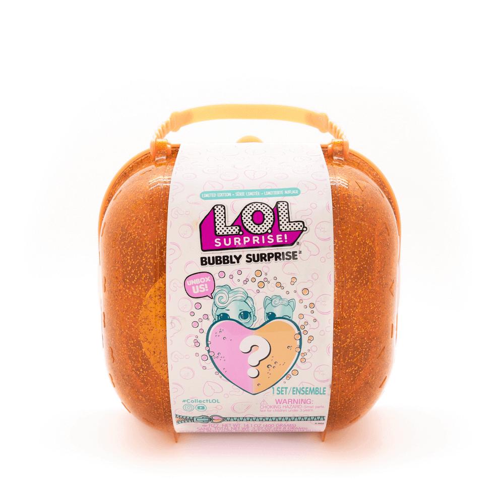 Кукла LOL Bubbly Surprise (чемоданчик-шипучий сюрприз) оранжевый